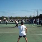 第16回淵野辺テニス教室の様子