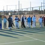 第8回淵野辺テニス教室の様子